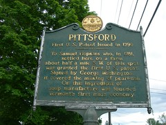 Pittsford Historic Marker