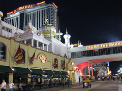 Hard Rock Café and Trump Taj Mahal