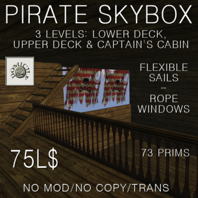 Domicile Pirate Skybox