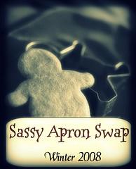 Winter Apron Swap