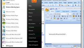 Test Drive Windows Vista