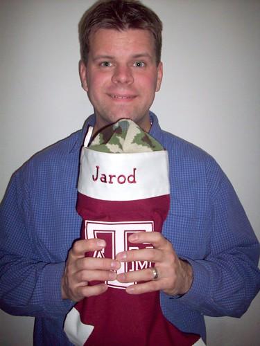 jarod's stocking