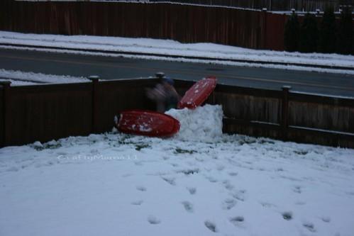 Snow Fort Blur