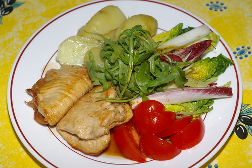 Turkey saltimbocca by La belle dame sans souci