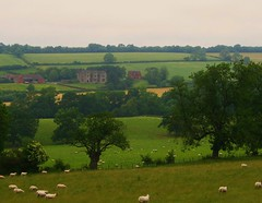 Wenlock Edge and Wilderhope Manor, Shropshire