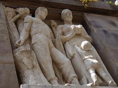 Virgilio Milani: bassorilievo (Rovigo)