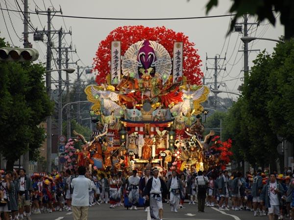 2008年 八戸三社大祭 お通り 31