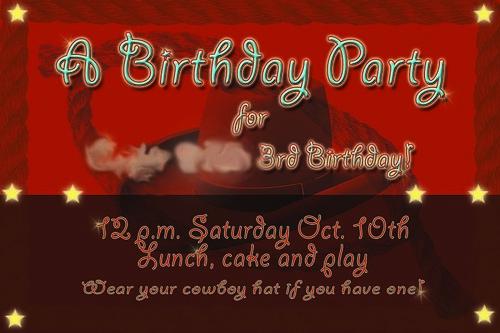 blg birthday invite