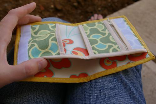 inside new wallet
