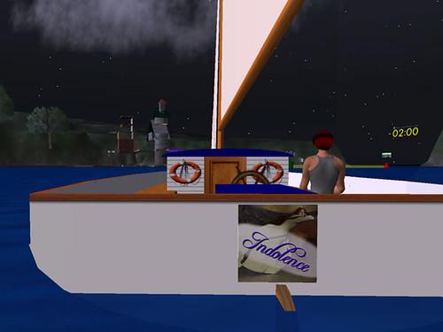 The Good Ship Indolence on Mowry Bay