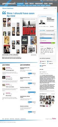 HMV Getcloser.com - User Profile