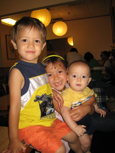 3 little kids