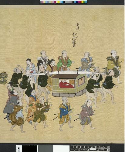 Ryukyu Edo Nobori Emaki - Detail - British Musuem