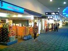 Penang airport departure lounge