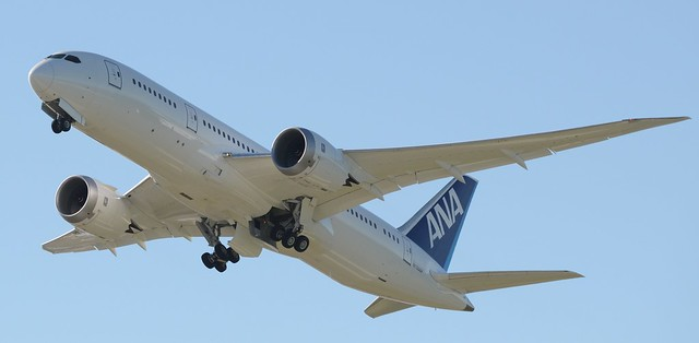 All Nippon Airways Boeing 787 Dreamliner N1006F ZA102