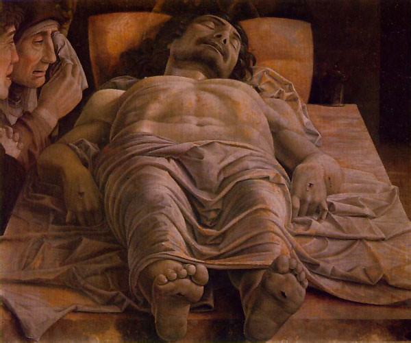 Andrea Mantegna -- the Dead Christ