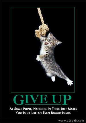 giveup