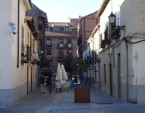 Calle del Bedel en la actualidad