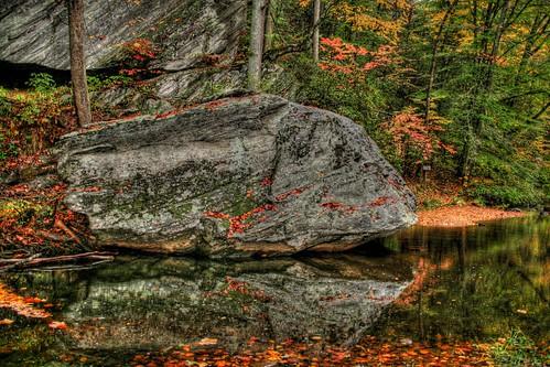 Boulder Reflected