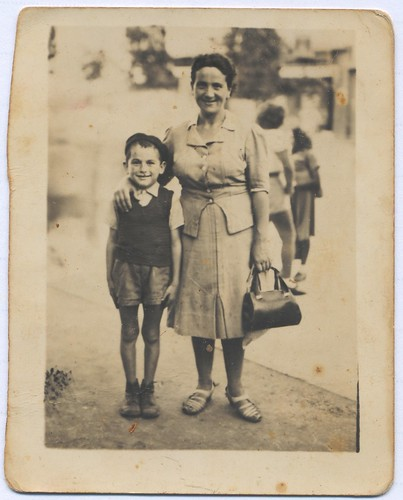 Cousin Uri and Savta Etka