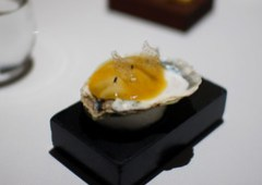 Oyster, Passion Fruit Jelly, Lavender