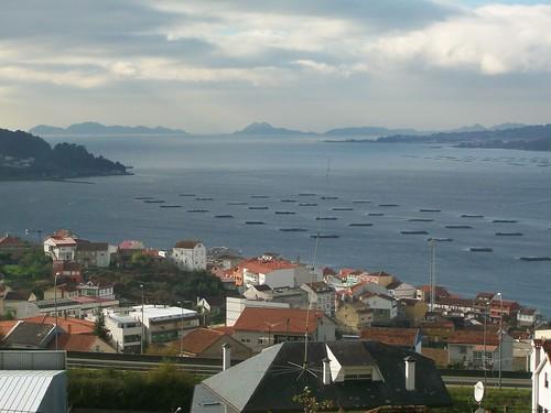 Bateas na ría de Vigo. Chapela