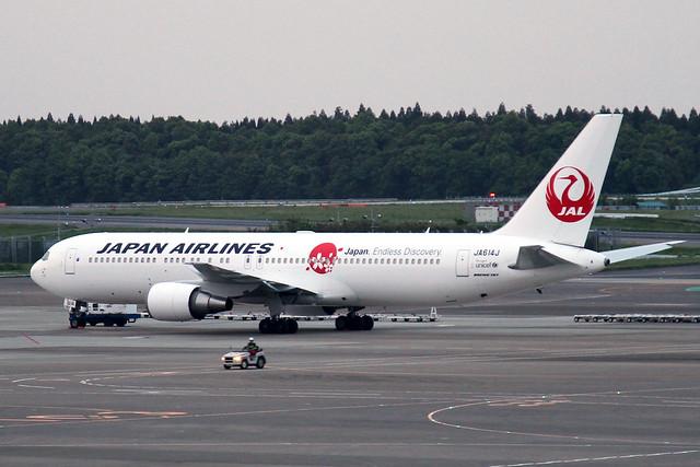 JAL B767-300ER(JA614J)