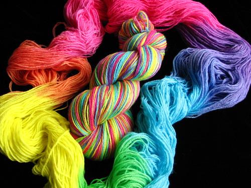 Tropical Rainbow - Sock Yarn