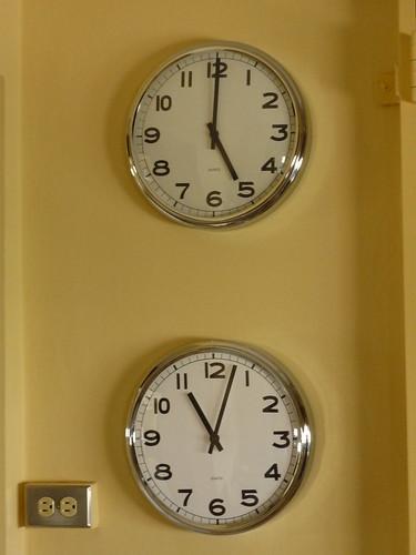 Five o'clock CET