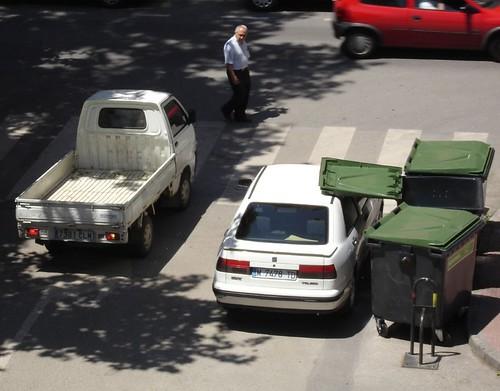 Parking a la sombra