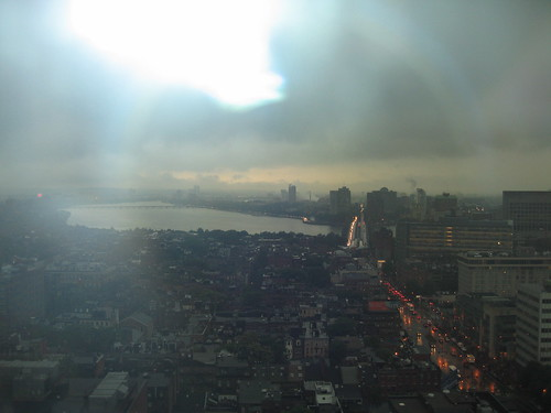 Boston, the Charles River, and the Longfellow bridge