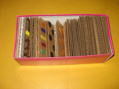 DIY Texture board storage box (3/3)