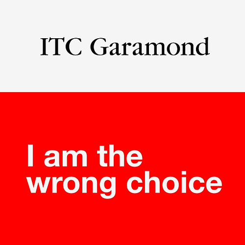ITC Garamond by Lars Willem Veldkampf.