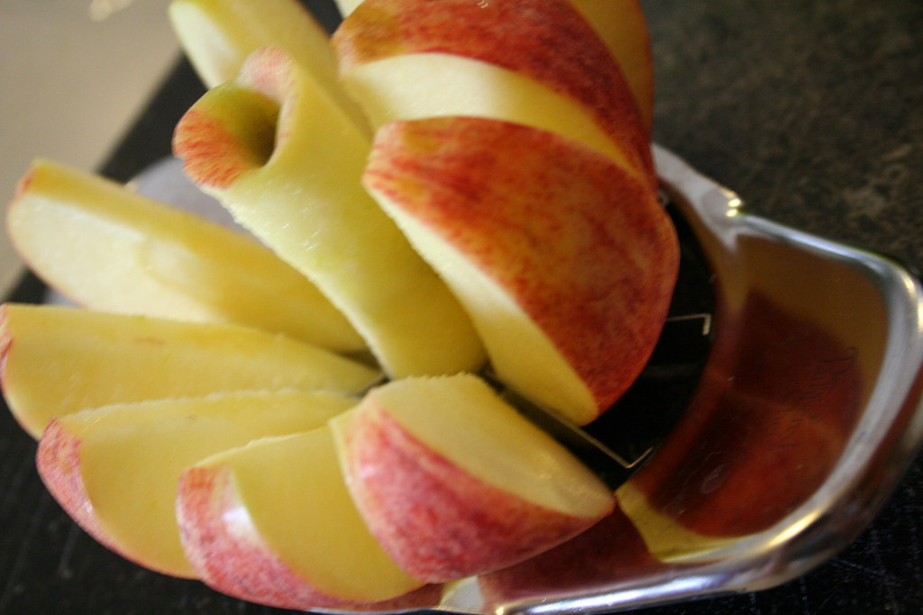 Sliced Macintosh Apple