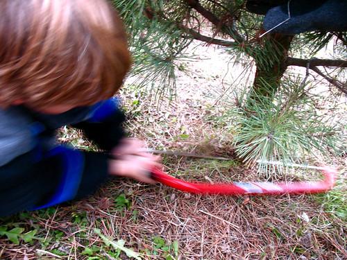 tree farm-cutting by you.