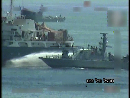 Israeli Navy, IDF, practices non lethal tactics to board the ship for an upcming flotilla