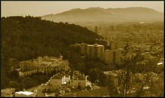 """Málaga, desde el """"Monte de las tres letra..."""