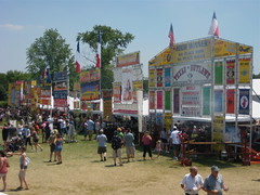 Ribfest at opening