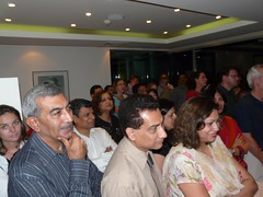 Guests listening to the Chief Guest