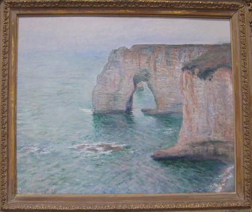 Manne-Porte, Étretat, Claude Monet