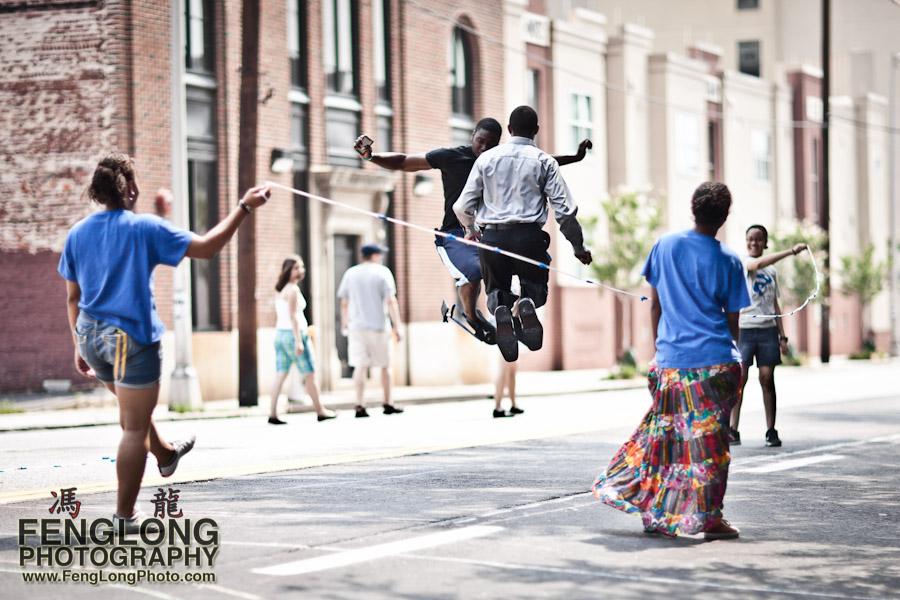 Jump rope double dutch at Atlanta Streets Alive - Saturday June 11th, 2011