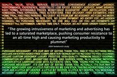 advertising saturation