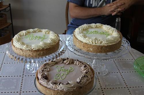 Jay\'s Birthday Cakes