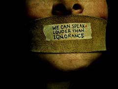 We Can Speak Louder Than Ignorance