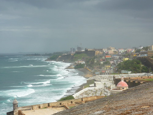 View from El Morro on Old San Juan