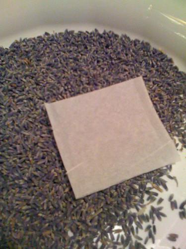 Lavender for tub teas