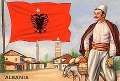Life in Albania - Painting