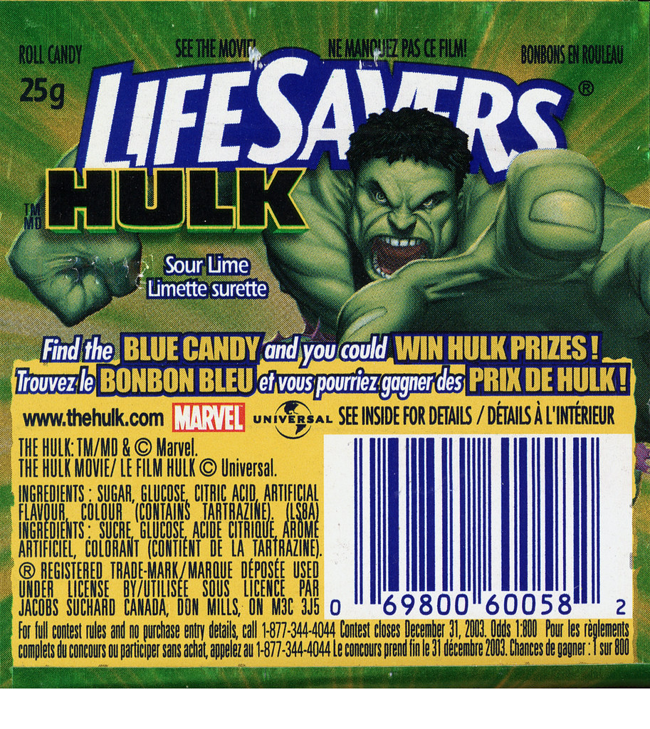 Hulk Life Savers