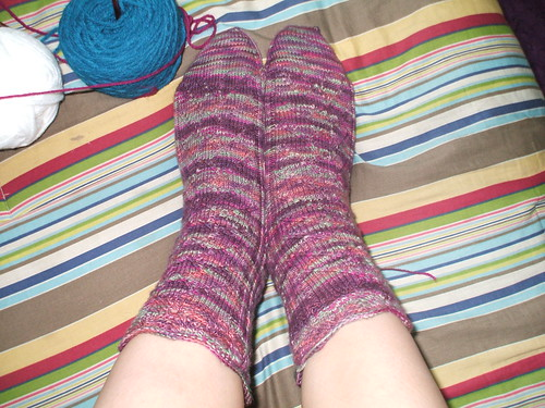Friday Harbor socks done