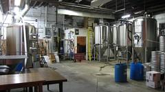 brewing equipment at Green Man